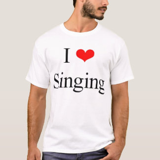 T-shirt J'aime chanter