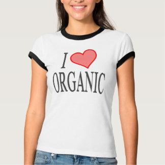 T-shirt J'aime (coeur) organique