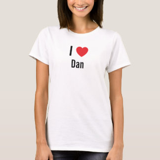 T-shirt J'aime Dan
