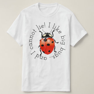 T-shirt J'aime de grands insectes