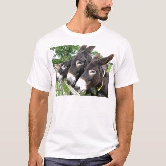 T-shirt J'aime des ânes !