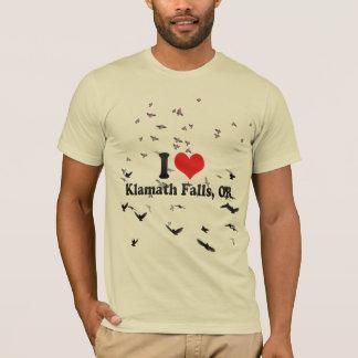 T-shirt J'aime des automnes de Klamath, OU