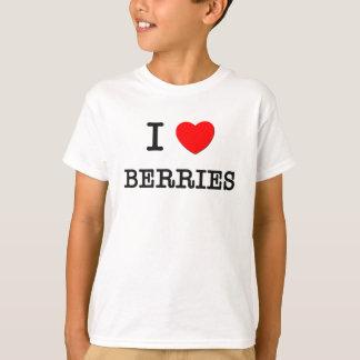 T-shirt J'aime des BAIES (la nourriture)