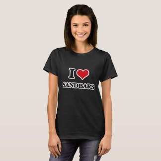 T-shirt J'aime des bancs de sable