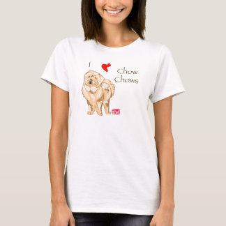 T-shirt J'aime des bouffes de bouffe