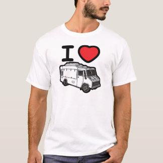 T-shirt J'aime des camions de nourriture !