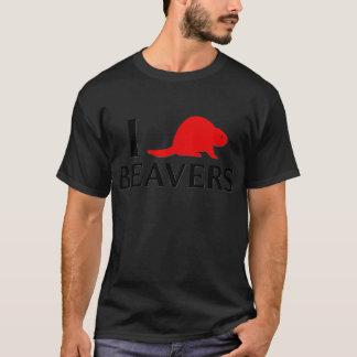 T-shirt J'aime des castors