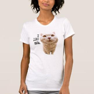 T-shirt J'aime des chats