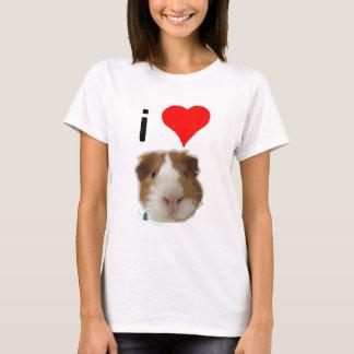 T-shirt J'aime des cobayes par si grinçant