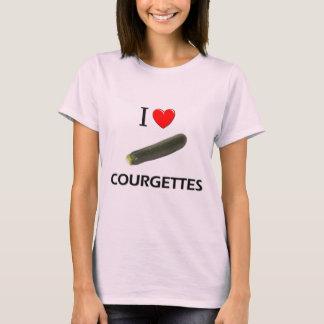 T-shirt J'aime des courgettes