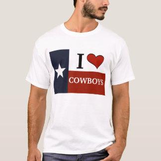T-shirt J'aime des cowboys