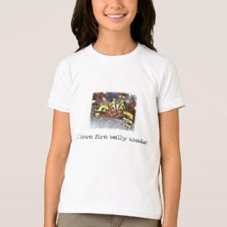T-shirt J'aime des crapauds de ventre du feu !  Pièce en t