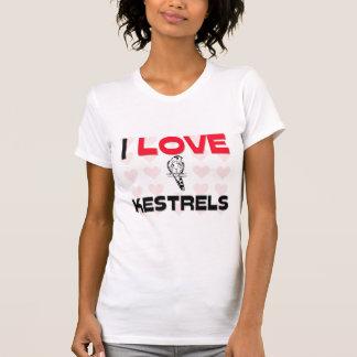 T-shirt J'aime des crécerelles