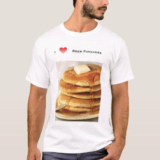 T-shirt j'aime des crêpes de bière