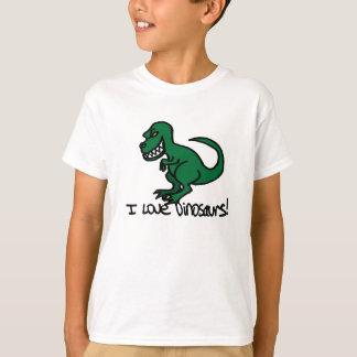 T-shirt J'aime des dinosaures !