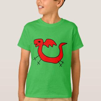 T-shirt J'aime des dragons ! La pièce en t des enfants