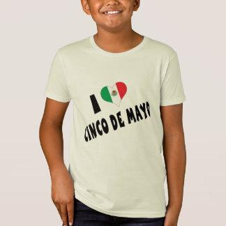 T-Shirt J'aime des enfants de Cinco De Mayo