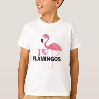 T-shirt j'aime des flamants