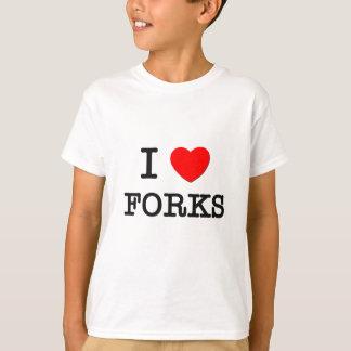 T-shirt J'aime des fourchettes