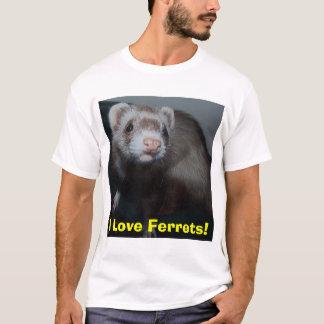 T-shirt J'aime des furets !