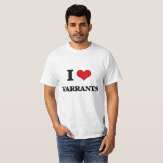 T-shirt J'aime des garanties