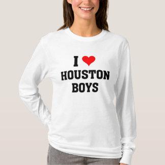 T-shirt J'aime des garçons de Houston