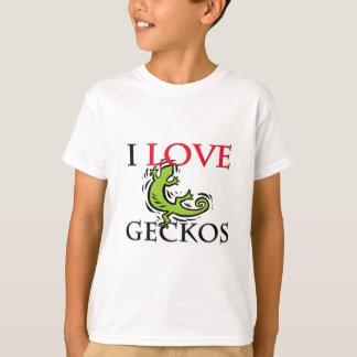 T-shirt J'aime des Geckos