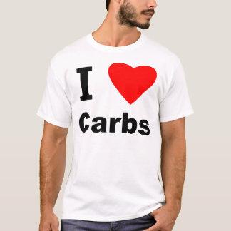 T-shirt J'aime des glucides !