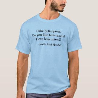 T-shirt J'aime des hélicoptères !