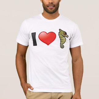 T-shirt J'aime des hippocampes