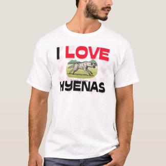 T-shirt J'aime des hyènes