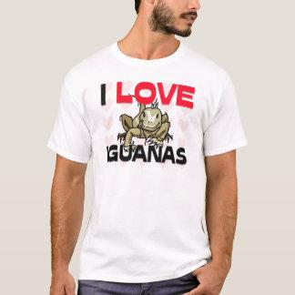 T-shirt J'aime des iguanes