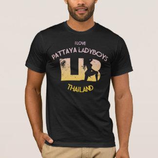 T-shirt J'aime des Ladyboys de Pattaya