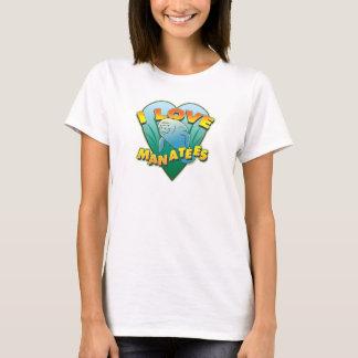 T-shirt J'aime des lamantins