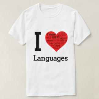 T-shirt J'aime des langues