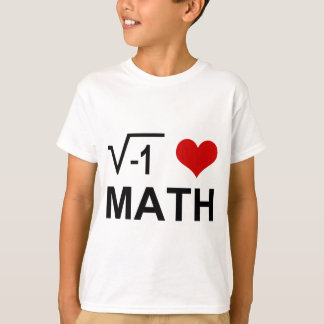 T-shirt J'aime des MATHS !