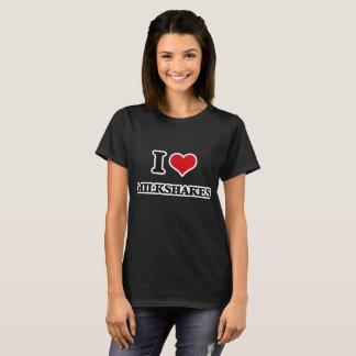 T-shirt J'aime des milkshakes