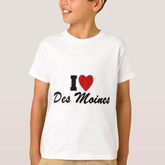 T-shirt J'aime Des Moines