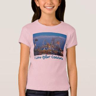 T-shirt J'aime des montagnes russes