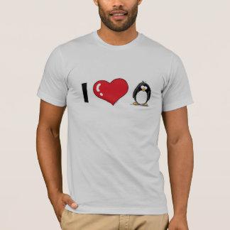 T-shirt J'aime des pingouins