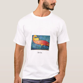T-shirt j'aime des poissons