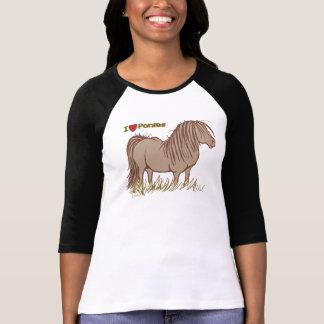 T-shirt J'aime des poneys