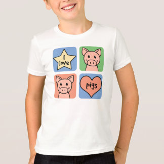 T-shirt J'aime des porcs