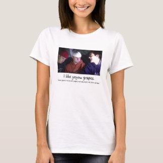 """T-shirt """"J'aime des raisins de Yeyow """""""