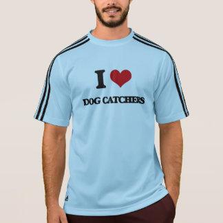 T-shirt J'aime des receveurs de chien