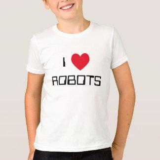 T-shirt J'aime des robots
