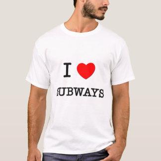 T-shirt J'aime des souterrains