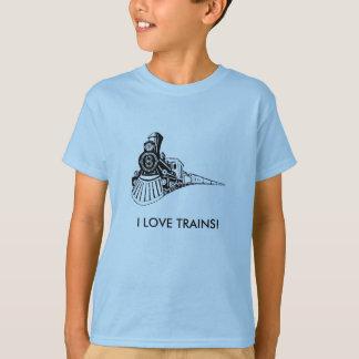 T-SHIRT J'AIME DES TRAINS !