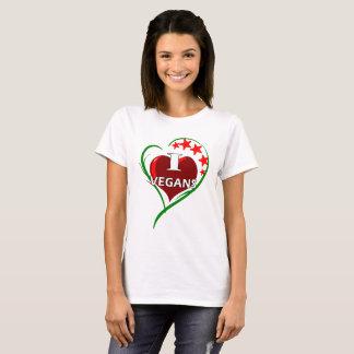 T-shirt J'aime des végétaliens