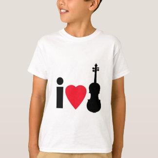 T-shirt J'aime des violons